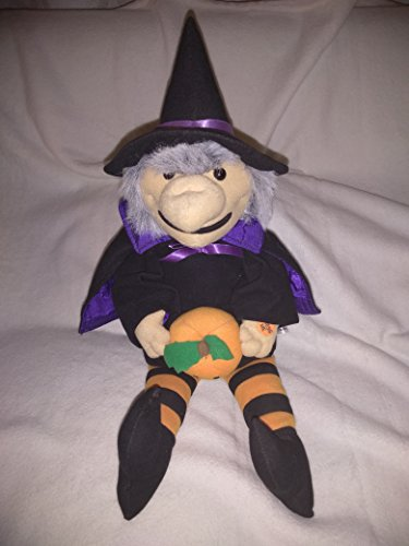 Plush Electronic Halloween Witch Playing Monster Mash Song 20'' Inches (Feet to Hat)]()