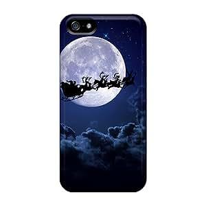 Unique Design Iphone 5/5s Durable Tpu Case Cover Santa Sail