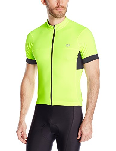 Pearl Izumi - Ride Ride Men's Elite Escape Semiform Fit Jersey, Screaming Yellow, Medium