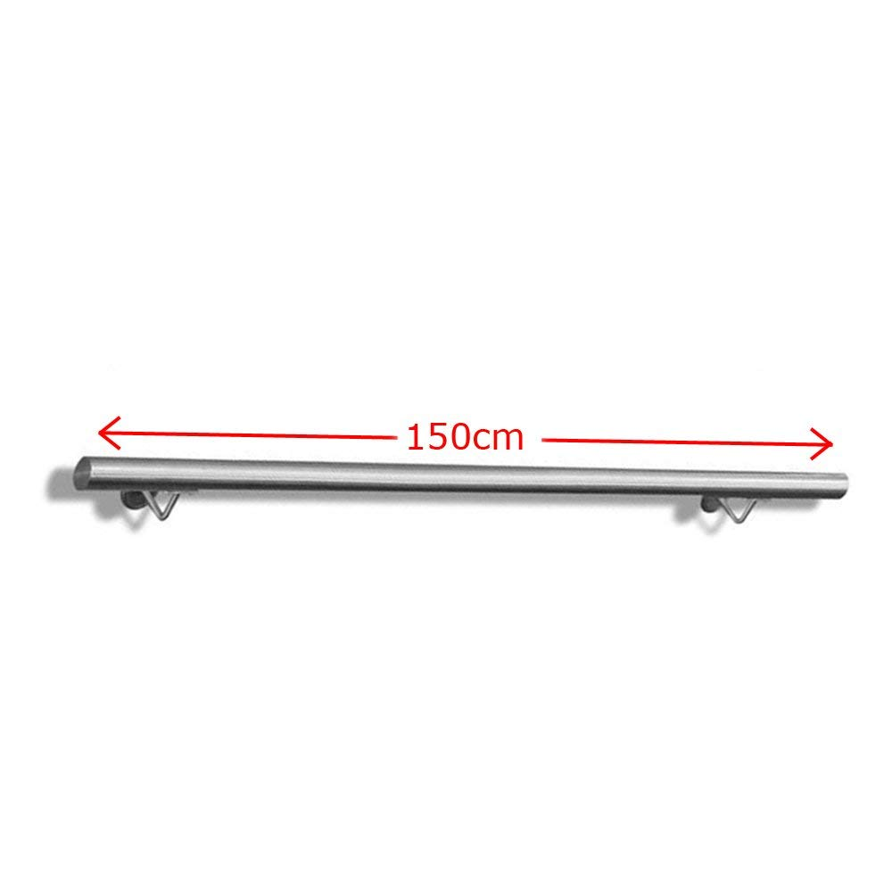 Pasamanos McTech® - Pasamanos de acero inoxidable, soporte de pared, para interiores y exteriores, escaleras, balcón, balaustrada: Amazon.es: Bricolaje y ...
