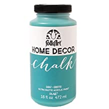 FolkArt Home Decor Chalk Furniture & Craft Paint in Assorted Colors, 16 oz, 34847 Grotto