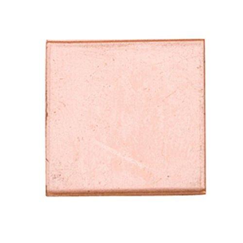 Copper Shape, Square, 11/16 Inch, 6 Pieces Copper Shapes