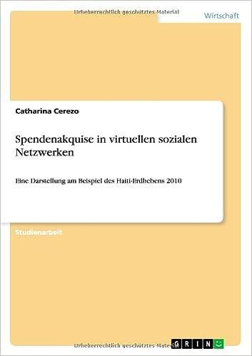 Caja de libros: Spendenakquise in Virtuellen Sozialen Netzwerken (German Edition) (Spanish Edition) PDF