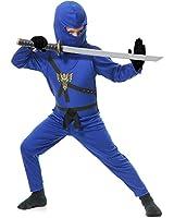 Charades Costumes - Blue Ninja Child Costume