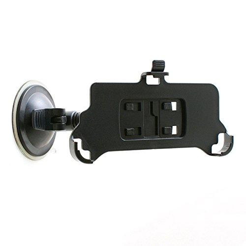 System-S–Supporto da auto supporto da auto ventosa parabrezza supporto con collo di cigno flessibile Gooseneck 10cm per iPhone 7