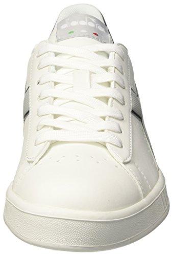 Game Uomo Sneaker Ghiacciaionero Diadora P Grigio Bianco Bianco qxwv7f