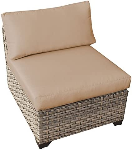 TK Classics Monterey 7 Piece Outdoor Wicker Patio Furniture Set 07a