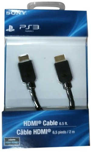 High Speed HDMI Cable - Playstation 3 (Playstation Digital Cables)