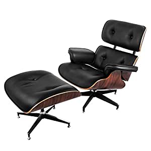 Wonderful Mophorn Swivel Recliner Chair Lounge Chair With Ottoman Mid Century Modern  Replica Style High Grade Vintage
