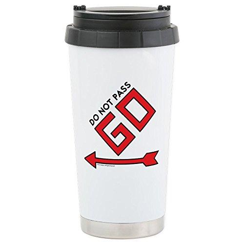 Monopoly Mug - CafePress - Monopoly - Do Not - Stainless Steel Travel Mug, Insulated 16 oz. Coffee Tumbler