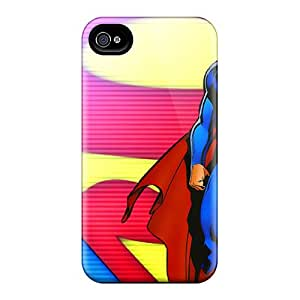 Durable Hard Cell-phone Cases For Iphone 6 With Customized Realistic Superman Skin TanyaCulver