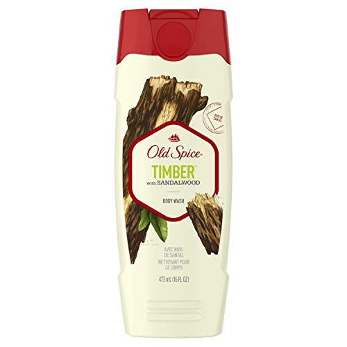 (Old Spice Fresher Collection Men's Body Wash, Timber Scent, 16.0 Fluid Ounce )