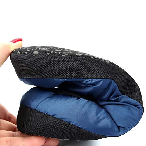 La Estar Caliente Azul Sala Marino Hombres Suave De Zapatos Zapatillas algodón Casa Interior Deslizador Invierno Para Abajo Casual Felpa q4vwxT7a