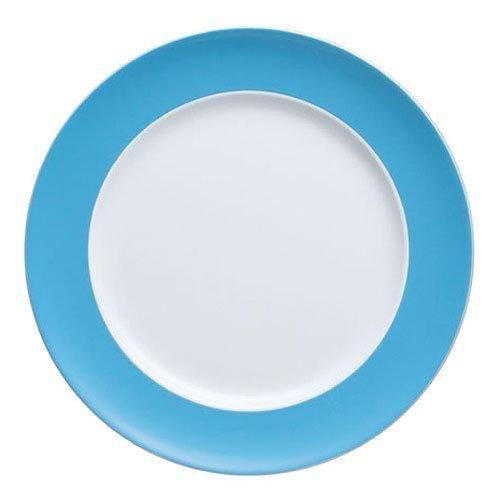 (Thomas Sunny Day Dinner Plate, Porcelain, Water Blue, Dishwasher Safe, 27 cm, 10227)