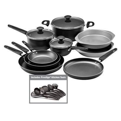 Amazon.com: Farberware: 18 Piece Cookware Set (Includes Prestige ...