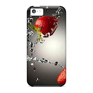 LJF phone case Fashion Protective Water Straw Iphone 4 Case Cover For ipod touch 4