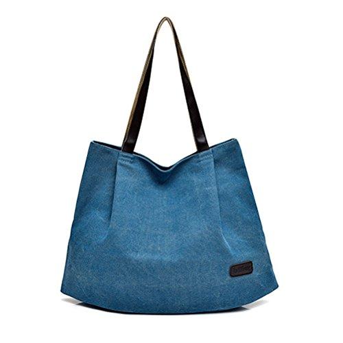 Oudan , Damen Tote-Tasche blau Normal blau