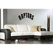Toronto Raptors NBA Team Logo American Basketball Superbowl Design Wall Decor Vinyl Sticker Decal Mural Gm2040