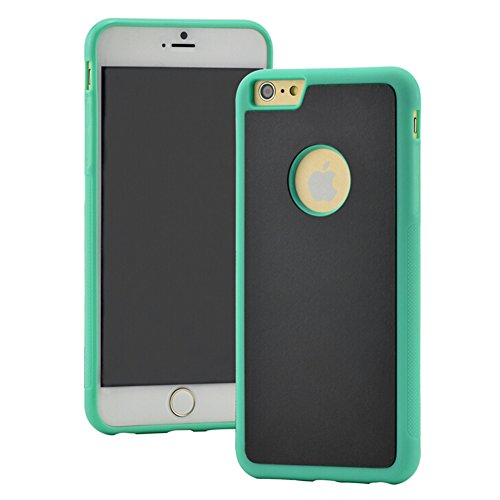 Highdas Antigravedad selfie caso para iPhone 5/5s negro verde