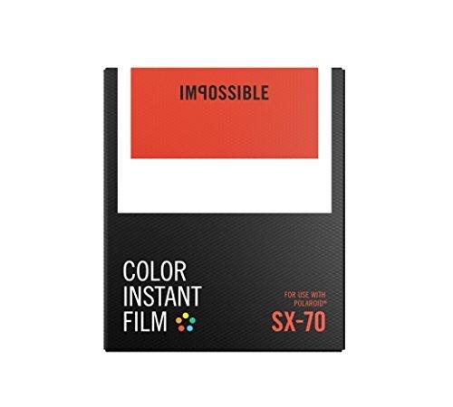 Impossible PRD4512 SX 70 Film, Color