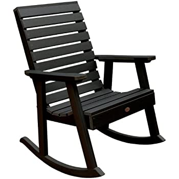 Highwood Weatherly Rocking Chair, Black