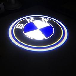 BAILONGJU BMW Easy Installation Car Door LED Logo Projector Ghost Shadow Lights 2-pc Set