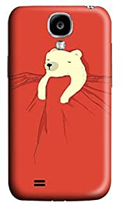 S4 Case, Samsung S4 Case, Customized Protective Samsung Galaxy S4 Hard 3D Cases - Personalized Sleeping Bear Cover