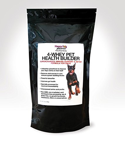 Happy Dog Naturals 4-Whey Immune Support Protein for Dogs