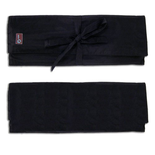 della Q Combo Knitting Case for Straight & Double Point & Circular Knitting Needles; 050 Black 101-1-050 by della Q