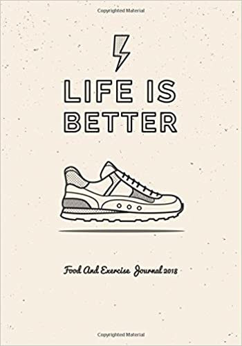 food and exercise journal 2018 a year 365 daily 52 week 2018 planner weekly and monthly food exercise fitness journal diary food journals for weight