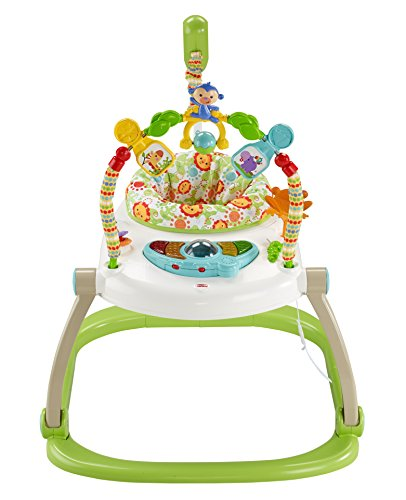 Fisher-Price Jumperoo: Rainforest Friends SpaceSaver (Fisher Price Monkey Jumper)