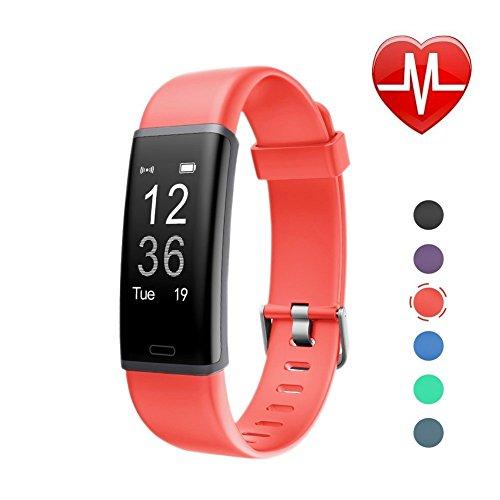Watch Calorie Monitor - LETSCOM Fitness Tracker, Activity Tracker Heart Rate Monitor, Sleep Monitor, Step Counter, Calorie Counter, Waterproof Pedometer Watch Kids Women Men