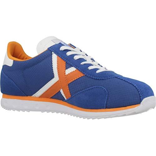 Adulto 49 Azul azul 49 Zapatillas Sapporo naranja Unisex Munich axP8nIYWp