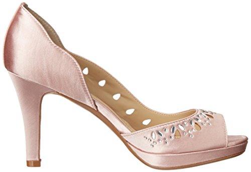 Adrienne Vittadini Chaussures Femmes Verre Dorsay Pompe Mid Pink