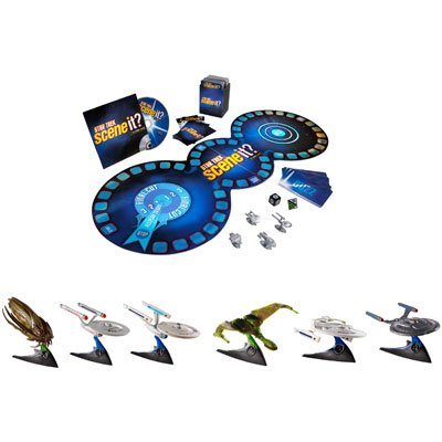 (Star Trek Ultimate Fan Pack Exlusive Included, 6 Star Trek Ships Scene It DVD Game)