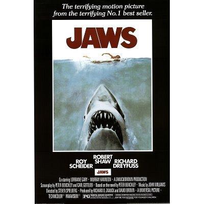 Jaws - Steven Speilberg - Movie 36x24 Classic Movie Art Prin