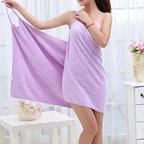 Soft Sport Gym Bath Travel Swimming Beach Quick Dry Microfiber Towel Gown Skirt
