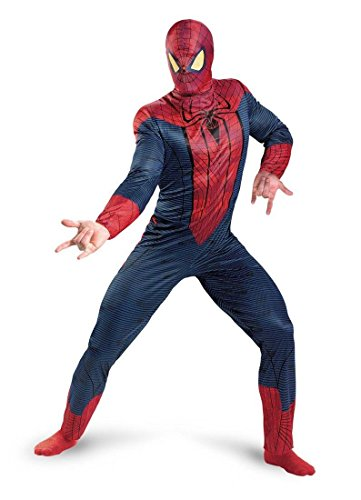 Stan Lee Signed Marvel Spiderman Movie Full Adult Costume W/Stan Lee Hologram