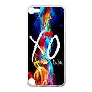 Colorful The Weeknd Xo Custom Case Cover for IPod Touch 5 TPU (Laser Technology)