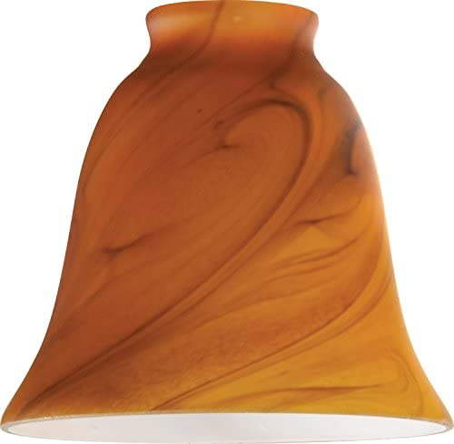 Westinghouse 8136300 2-1 4 Burnt Amber Swirl Bell Lamp Shade