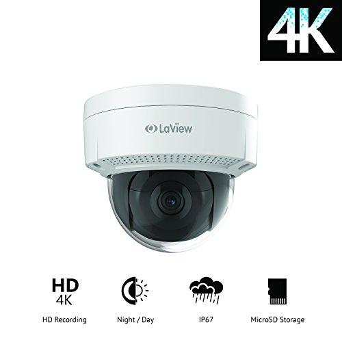 LaView Ultra HD 4K Dome Camera