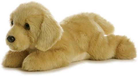"""Aurora World Inc. Flopsie Plush Goldie Labrador Dog, 12\"""""""