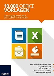 22222 Office Vorlagen Amazonde Software
