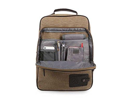 mochila de universidad la bolso hombro Bolso alta del del lona la FangYOU1314 ocio bolso de de de de la densidad nqPxOnUX6