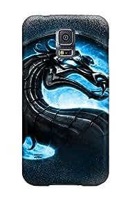 Unique Design Galaxy S5 Durable Tpu Case Cover Mortal Kombat Cool Logo