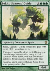 Magic: the Gathering - Sekki, Seasons' Guide - Saviors of Kamigawa