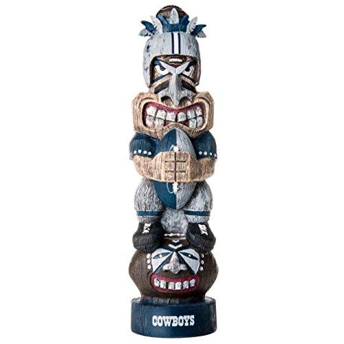 NFL Dallas Cowboys Tiki Figurine, One Size, Blue