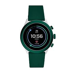 Fossil Sport Smartwatch Digital Black Dial Men's Watch-FTW4035
