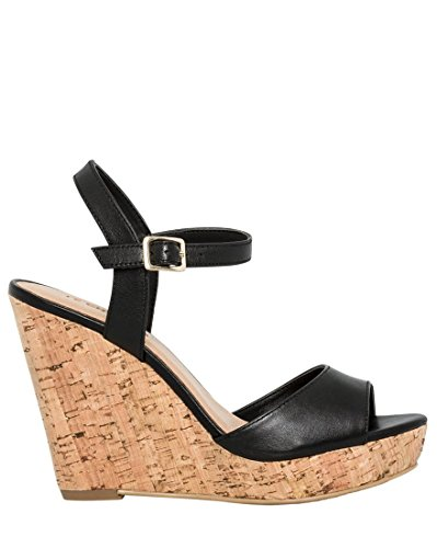 LE CHÂTEAU Women's Chic Leather Wedge ()