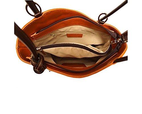 Craze London - Bolso mochila  para mujer Small granate